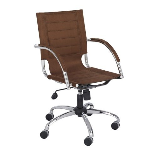 Flaunt™ Managers Chair Micro Fiber - Brown