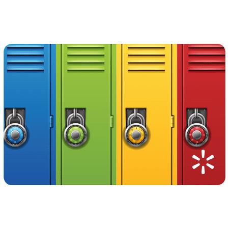 Back to School Lockers Walmart eGift Card