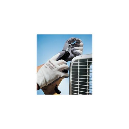 Ansell Healthcare Products AHP118009 Safety Gloves, Nitrile Foam Coating, Large, Gray-White