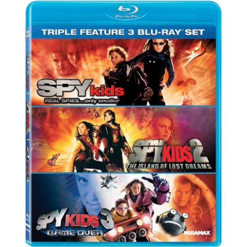Spy Kids Triple Feature Set - Spy Kids / Spy Kids 2: The Island Of Lost Dreams / Spy Kids 3: Game Over (Blu-ray) (Widescreen)