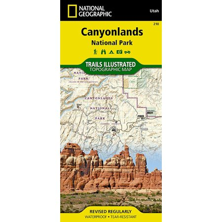 National Geographic Maps: Trails Illustrated: Canyonlands National Park (Other)