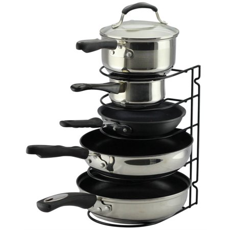 Neat-O Pan Rack Organizer Holder for Kitchen, Countertop, Cabinet, Pantry