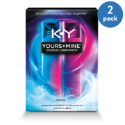 ((2 Pack) K-Y Yours and Mine Couples Hybrid Lubricants - 3 oz)
