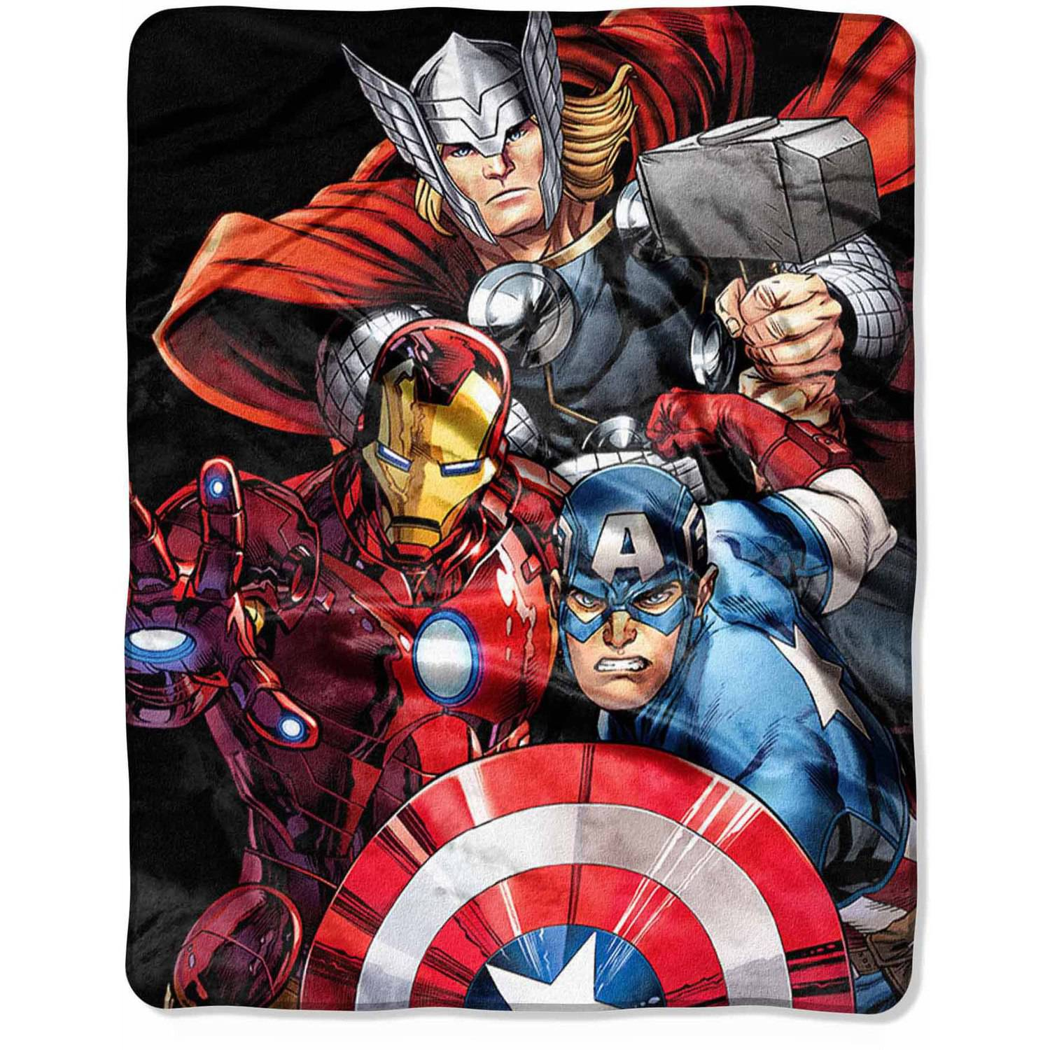 "Marvel Avengers ""Agents of SHIELD"" 40"" x 50"" Silk Touch Throw"