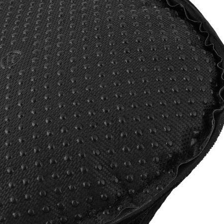 Bicycle Silicone Triangle Groove Shaped Saddle Seat Cover Cushion Black - image 1 of 4