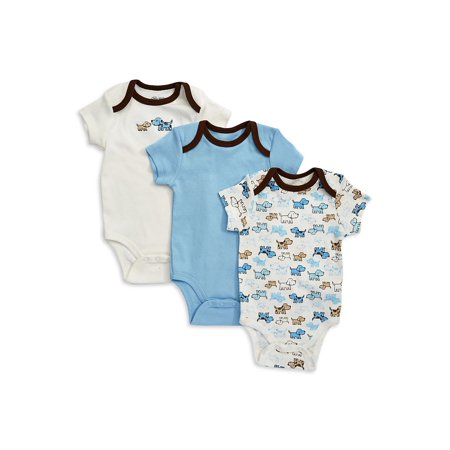 3-Piece Puppy Bodysuit Set