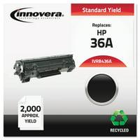 Innovera Remanufactured CB436A (36A) Toner, Black