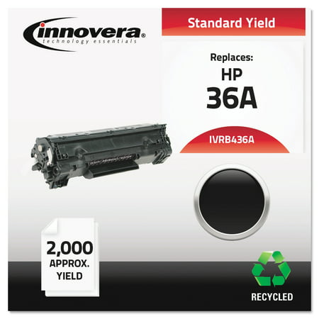 Innovera Remanufactured CB436A (36A) Toner, Black