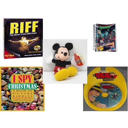 Children\'s Gift Bundle [5 Piece] - Riff DVD - Goosebumps Reading Is ...