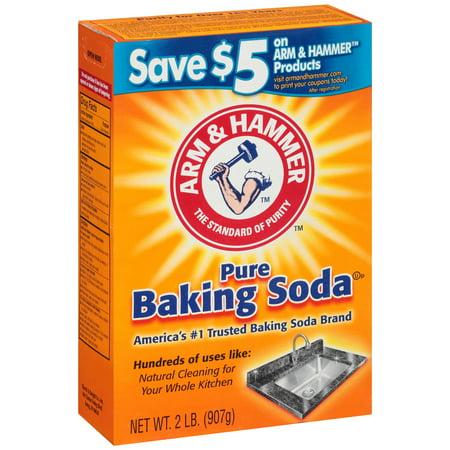 Arm & Hammer Pure Baking Soda, 2 lb Arm & Hammer Baking Soda