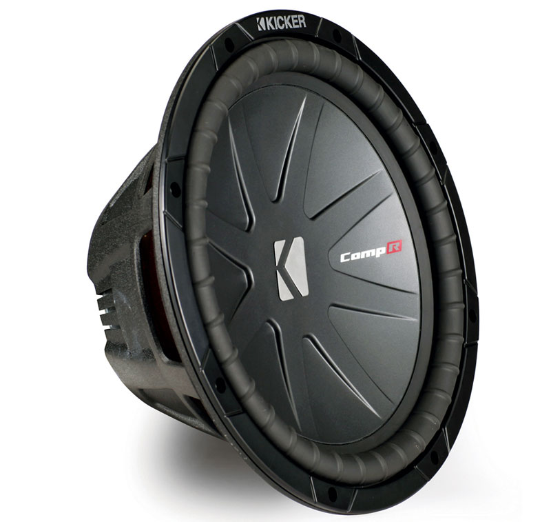 "Kicker Cwr12 Comp R 12"" Car Stereo Sub Subwoofer Dual 2 Ohm 1600W Peak Closeout - Factory Certified Refurbished"