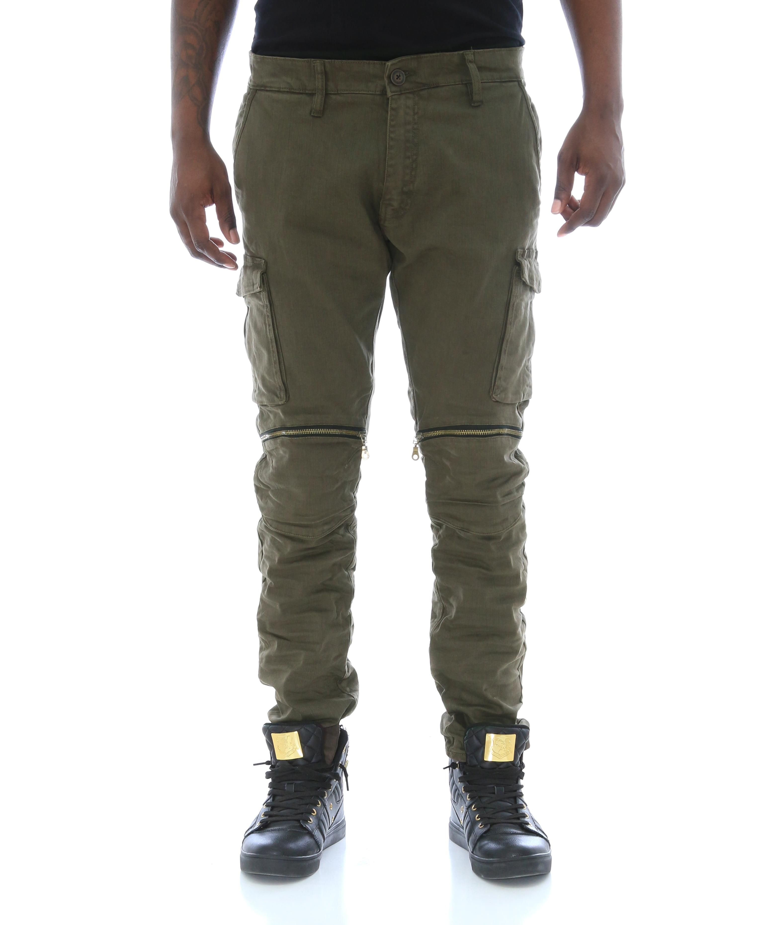 3b14bd0e815 Jordan Craig - Jordan Craig Men's Twill Tapered Leg Zipper Knee Cargo Pants  - Walmart.com