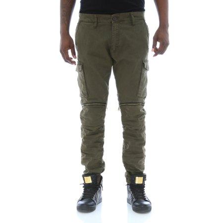 f1509d2abf Jordan Craig - Jordan Craig Men's Twill Tapered Leg Zipper Knee Cargo Pants  - Walmart.com