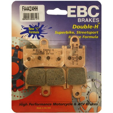 EBC Double-H Sintered Brake Pads Front (2 sets Required) Fits 09-12 Yamaha Vmax 1700 VMX1700