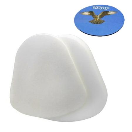 HQRP Foam & Felt Filter Kit for Shark Navigator Lift-Away NV350, NV350nz, NV350_26 Series Upright plus HQRP Coaster