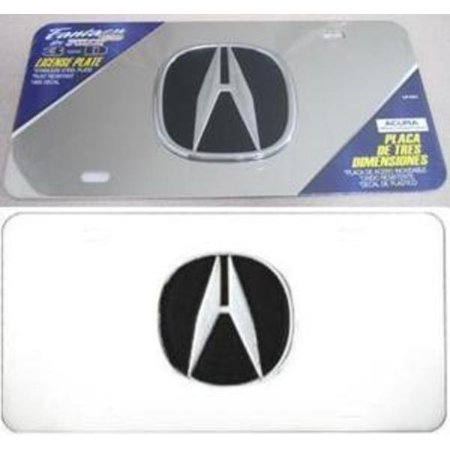 Pilot Automotive LP-041 Chrome Acura 3D Plate