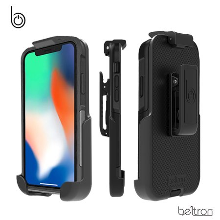 low priced accb5 cb6d5 BELTRON Belt Clip Holster for OtterBox Commuter Case - iPhone X (case is  not included)
