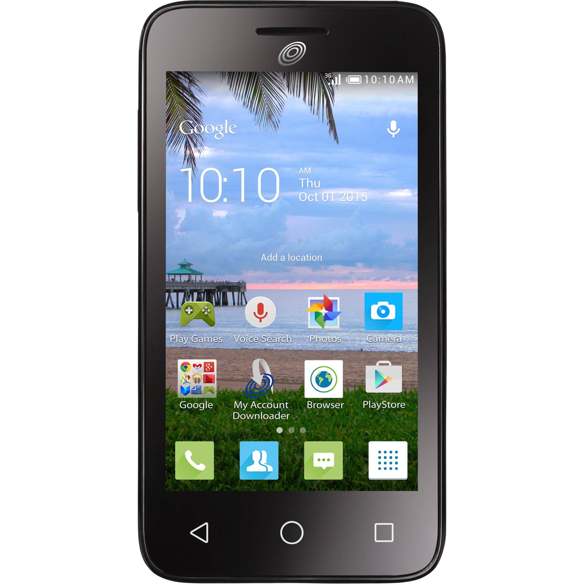 Tracfone Alcatel Pixi Eclipse Android Prepaid Smartphone