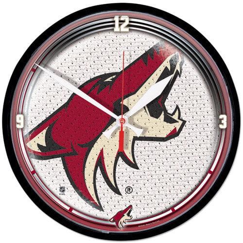 NHL - Phoenix Coyotes Round Clock