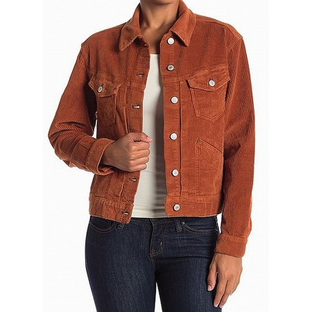 - Womens Corduroy Two Pocket Jacket $128 XS