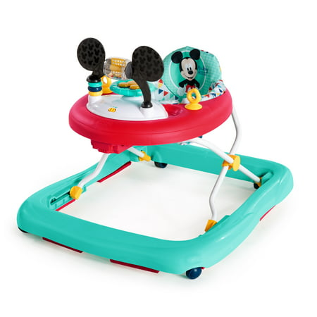 Disney Baby Mickey Mouse Walker with Activity Station - Happy