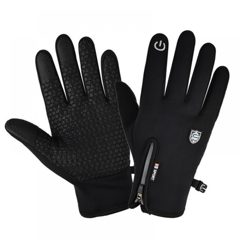 Unisex Touchscreen Winter Thermal Warm Bicycle Bike Cycling Gloves Sports safty