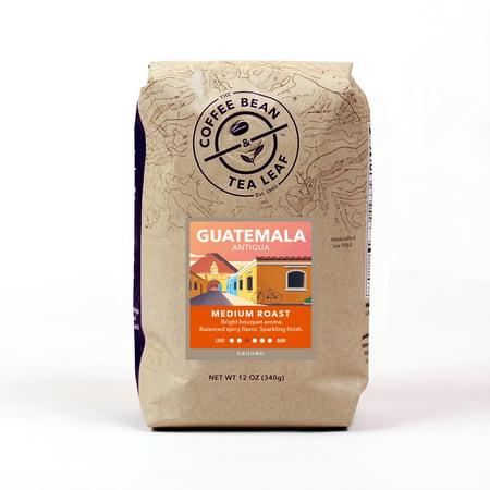 The Coffee Bean & Tea Leaf Guatemala Organic Medium Roast Ground Coffee 12 oz. (Sterling Silver Tea Coffee)