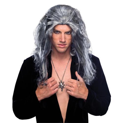 Underlord Vampire White Wig for Evil Halloween Costume
