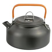 Hottest 0.8L Camping Teapot Kettle Coffee Pot Outdoor Portable Teapot Cooking Tool Cookware Picnic Hiking Supply 1 pack