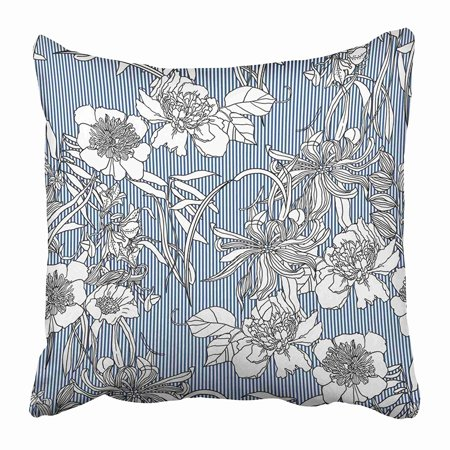 EREHome Abstract Floral Fantastic Flower Modern Pillow Case Cushion Cover 20x20 inch - image 1 of 1