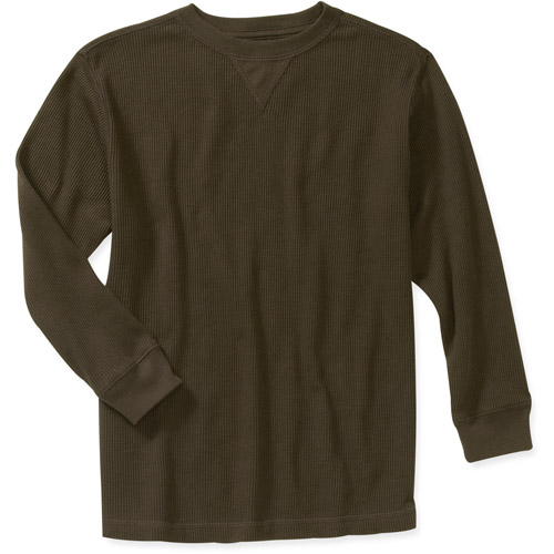 Faded Glory Boys Long Sleeve Solid Thermal