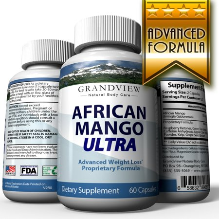 African Mango Ultra - Suppresses Appetite Increases Metabolism Improved Energy Levels Helps Raise HDL (Good Cholesterol) Helps Lower LDL (Bad Cholesterol) Ultra