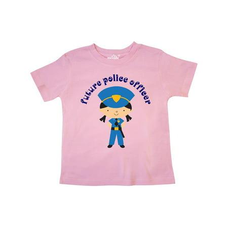 Future Police Officer Girls Law Enforcement Toddler T-Shirt](Police Girl)