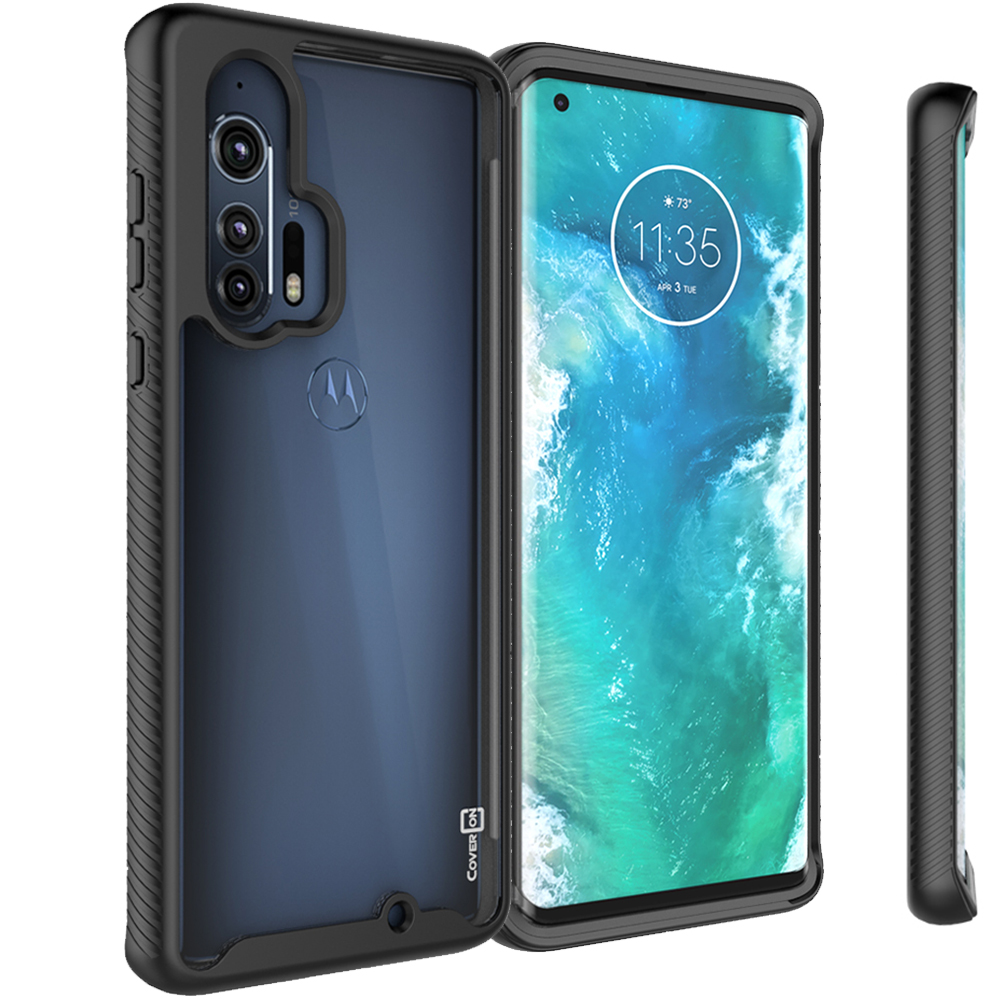 CoverON Motorola Moto Edge Plus Case Heavy Duty Full Body ...