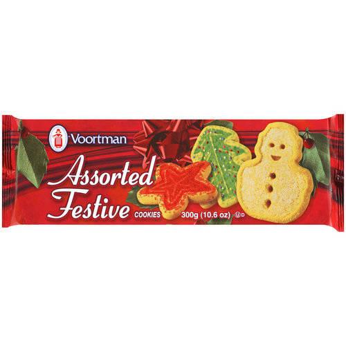 Voortman Assorted Festive Cookies, 10.6 oz - Walmart.com