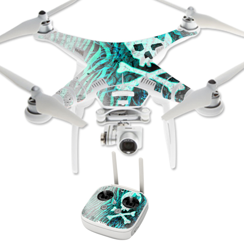 MightySkins Protective Vinyl Skin Decal for DJI Phantom 3 Professional Quadcopter Drone wrap cover sticker skins Grasshopper