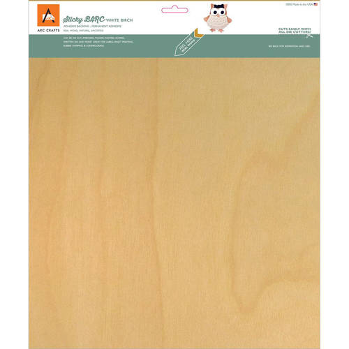Barc Wood Chery 12X12Sh Sticky