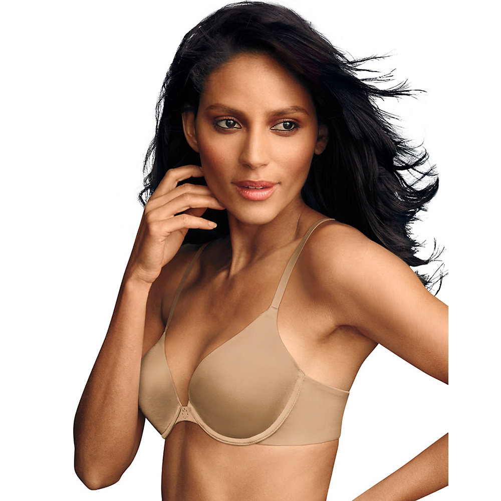Maidenform Women's Custom Lift Tailored Satin Demi Bra Latte Lift 32 B 32B Latte Lift