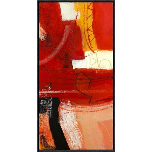 Global Gallery 'Davanti al Fuoco III' by Maurizio Piovan Framed Painting Print on Canvas
