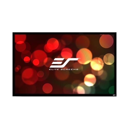 Elite Screens ezFrame Grey Fixed Frame Projection Screen