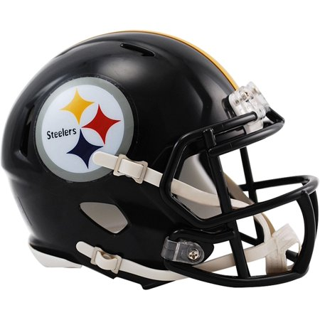 Riddell Pittsburgh Steelers Revolution Speed Mini Football Helmet Nfl Steelers Helmet