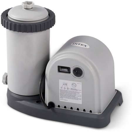 Intex 1500 Gph Krystal Clear Cartridge Filter Pump For Above Ground Pool