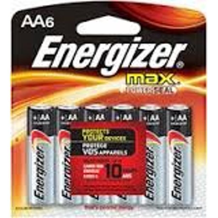 Energizer Max AA Batteries - ENERGIZER MAX AA BATTERIES