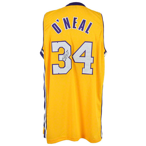 NBA - Shaquille O'Neal Autographed Jersey