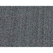CA AE36GY Carpeted Runner, Black, 3 x 6 ft.
