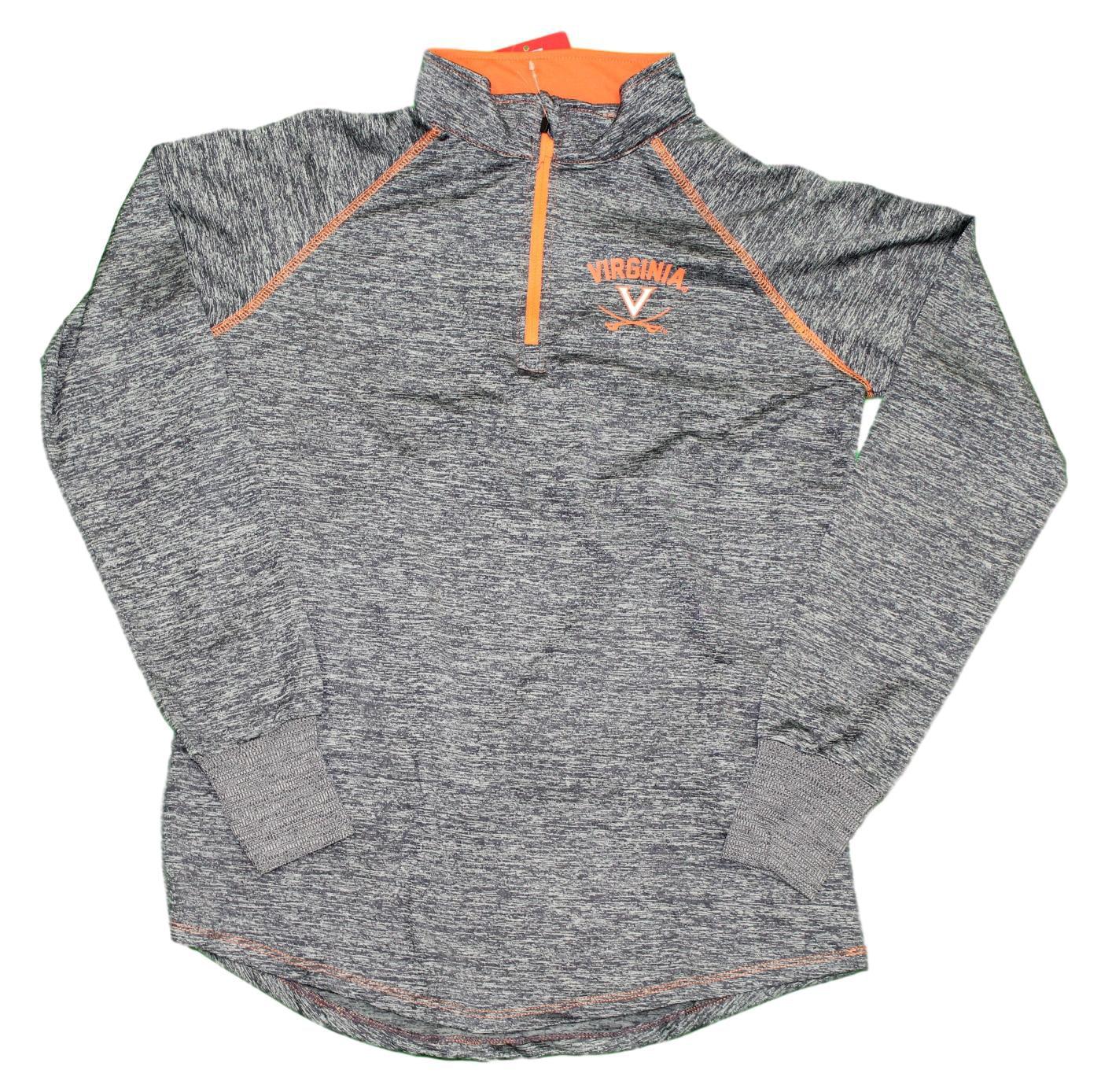 "Virginia Cavaliers Women's NCAA ""Bikram"" 1/4 Zip Long Sleeve Top Shirt"