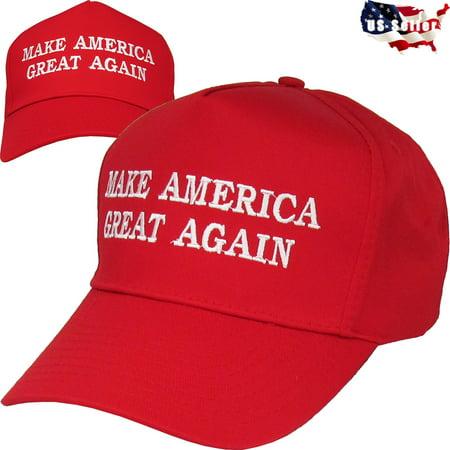 Make America Great Again   Donald Trump 2016 Red Cap Hat Snapback