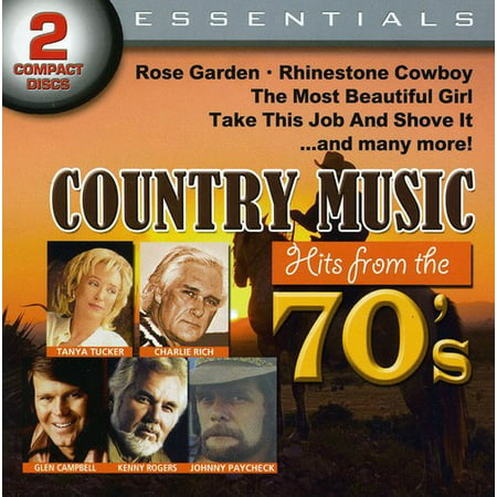 Country Music Hits From The 70 (Walmart)