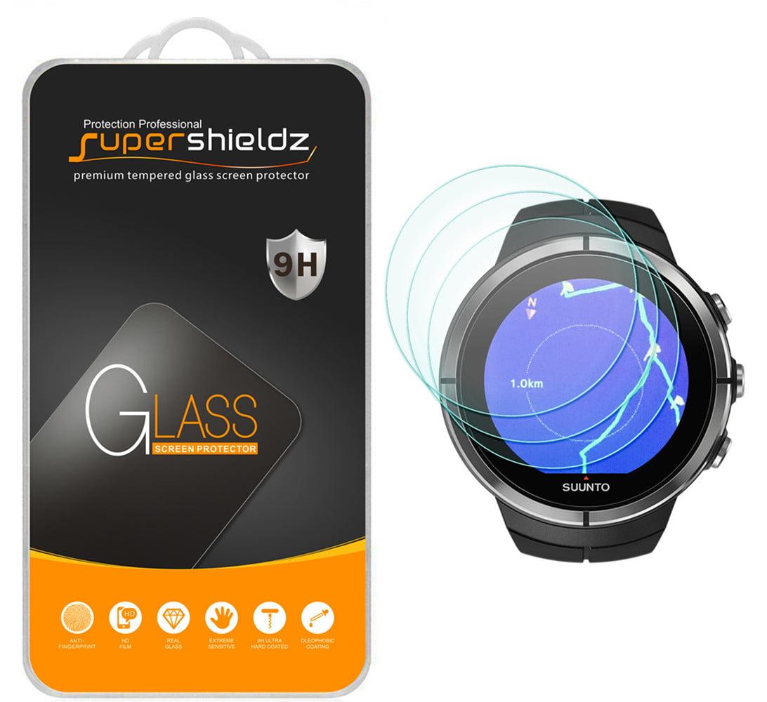 [3-Pack] Supershieldz for Suunto Spartan Ultra HR Sport Sport HR Sport Wrist HR Baro Tempered Glass Screen Protector,... by
