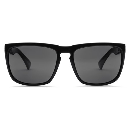 ELECTRIC KNOXVILLE XL POLARIZED Sunglasses Gloss Black-OHM+ Grey Chrome (Electric Tonette Sunglasses Polarized)